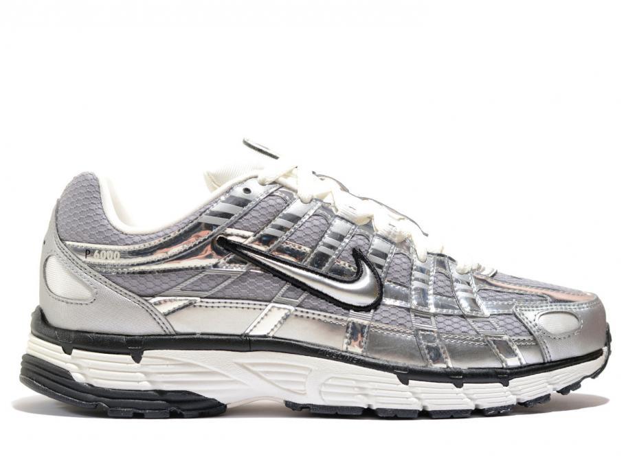 sports shoes 074aa b14c0 Nike P-6000 Metallic Silver