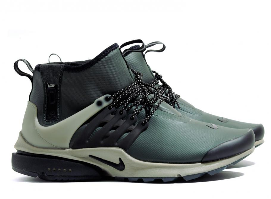 sneakers for cheap bb5f4 29ccb Nike Air Presto Mid Utility Grove Green 859524-300   Soldes   Novoid Plus