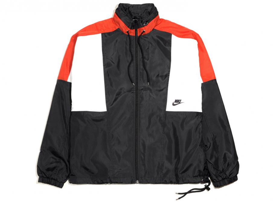 64da86619 Nike Re-Issue Jacket Woven Black / University Red AQ1890-010 / Soldes /  Novoid Plus
