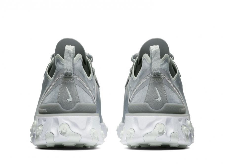 new product 36971 0d6c8 NIKE WMNS REACT ELEMENT 55 WOLF GREY