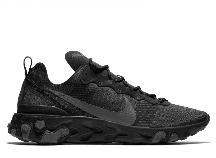 Nike React Element 55 Black   Dark Grey BQ6166-008   Soldes   Novoid Plus cc410122c