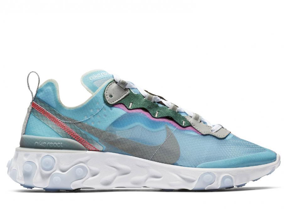 more photos 2dbae daa88 Nike React Element 87 Royal Tint AQ1090-400   Soldes   Novoid Plus