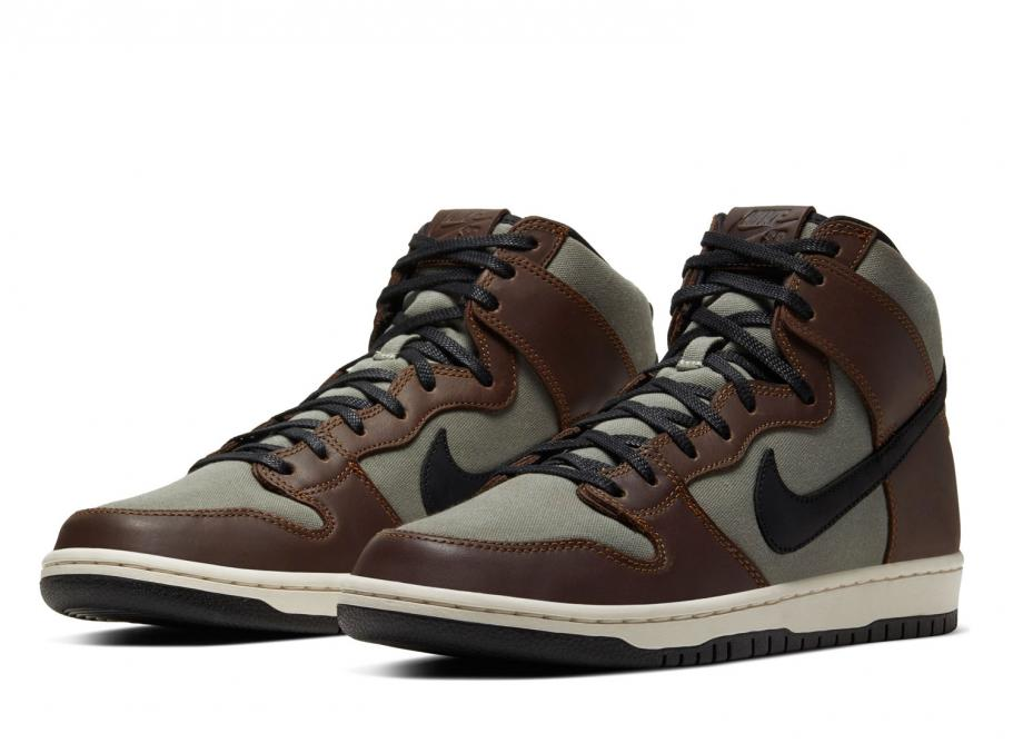 Nike SB Dunk High Pro Baroque Brown BQ6826-201 / Soldes / Novoid Plus