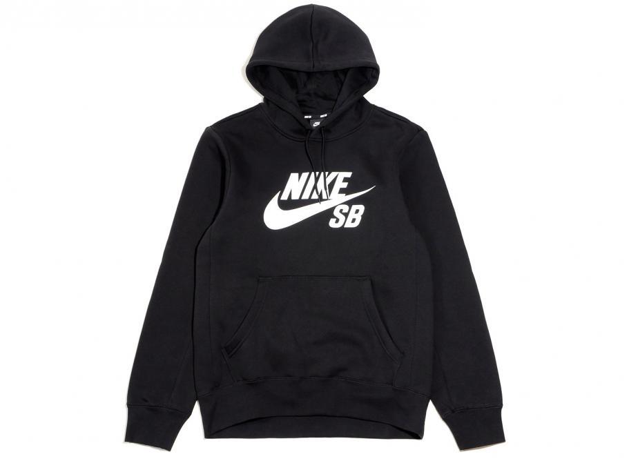 Nike SB Icon Hoodie Black AJ9733-010   Soldes   Novoid Plus 003a0c3d7
