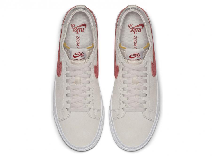 Nike SB Zoom Blazer Chukka Vast Grey Team Crimson