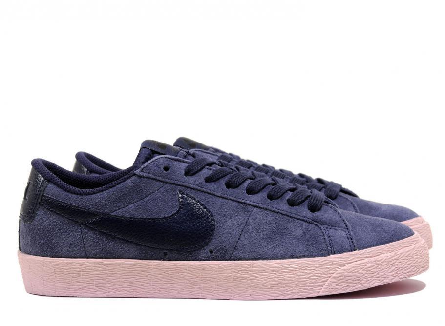many fashionable free shipping arriving Nike SB Zoom Blazer Low Obsidian / Bubble Gum