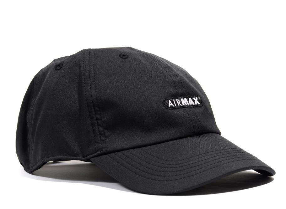 Nike Sportswear H86 Air Max Cap Black 891285-010   Soldes   Novoid Plus 22d5cfe018d