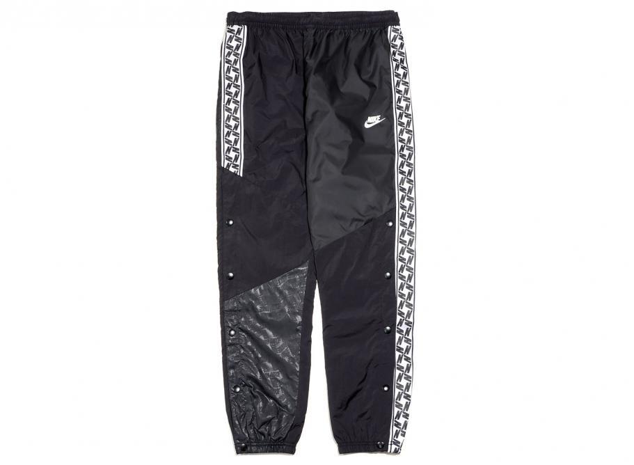 67f2116656217 Nike Sportswear Taped Woven Pants Black AR4942-010 / Soldes / Novoid Plus