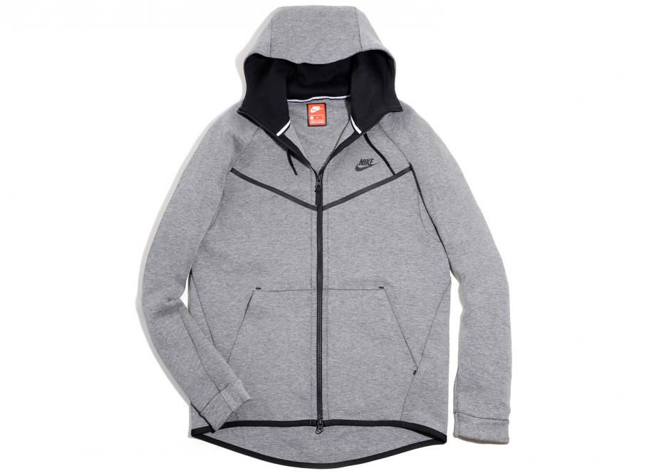 Nike Sportswear Tech Fleece Windrunner Hoodie Carbon Heather