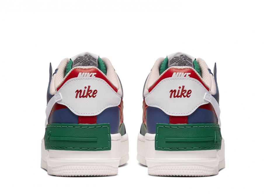 Nike W Air Force 1 Shadow Mystic Navy Ci0919 400 Soldes Novoid