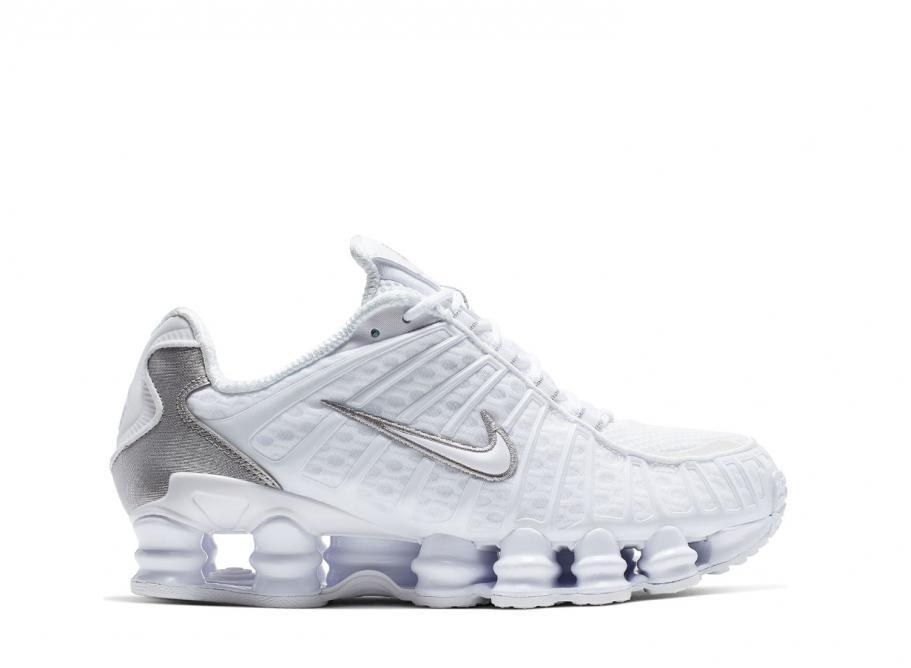 Nike Wmns Shox TL White Metallic Silver