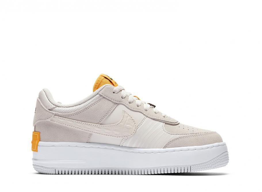 Nike Air Force 1 Shadow Beige Orange | CU3446 001 | Limited
