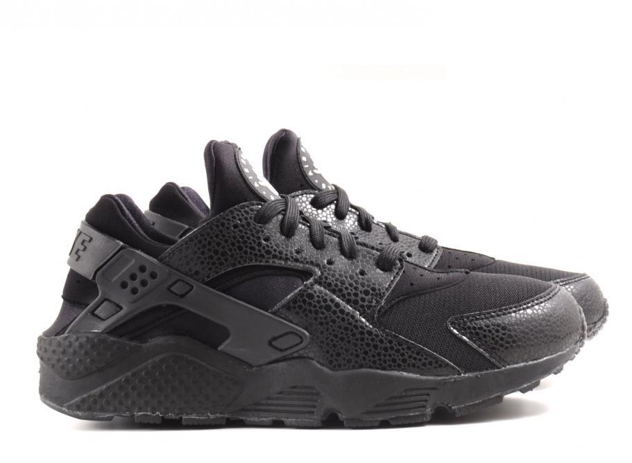 Nike Wmns Air Huarache Black   Black White   Soldes   Novoid Plus 2f5df8b72