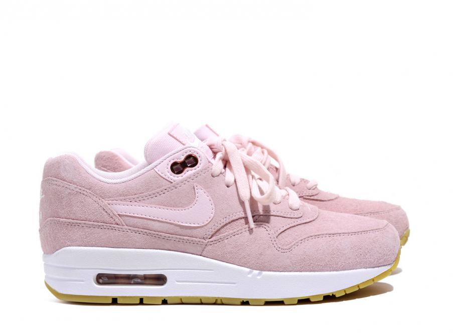 Nike Air Max 1 Pink Suede 919484 600 |