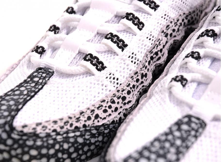 20002680ff Nike Wmns Air Max 95 PRM White / Black / Cool Grey / Soldes / Novoid ...