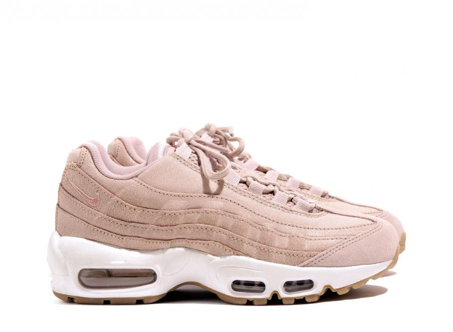 8344438a1dba Nike Wmns Air Max 95 PRM Pink Oxford 807443-600   Soldes   Novoid Plus