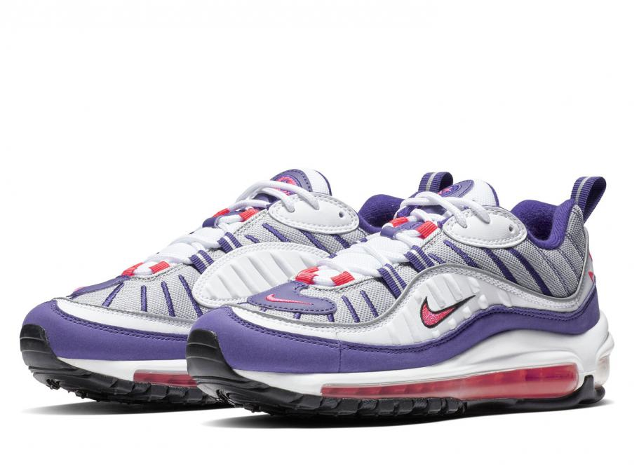 Nike Wmns Air Max 98 White Racer Pink