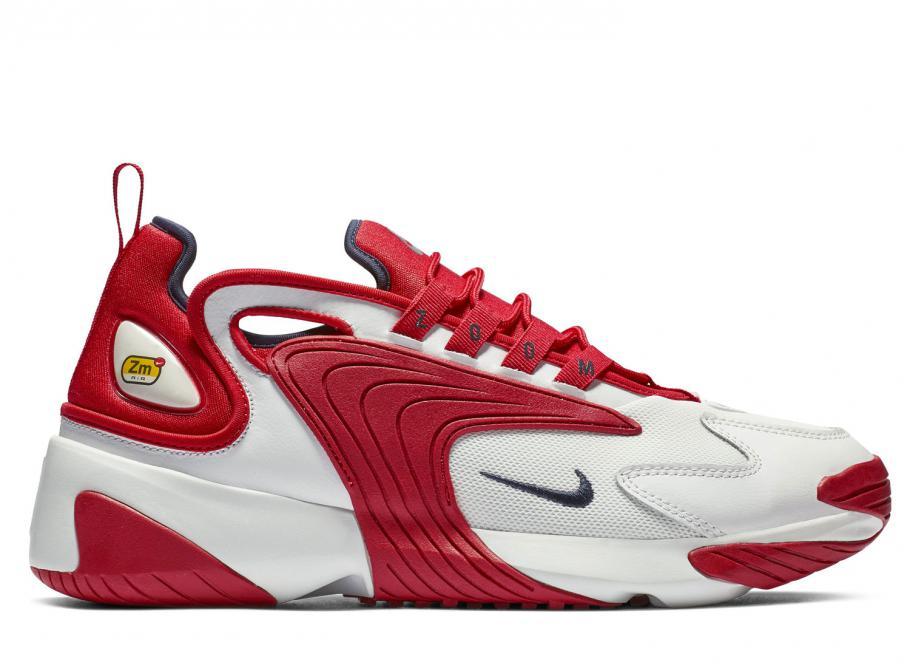 Nike Zoom 2K Off White / University Red