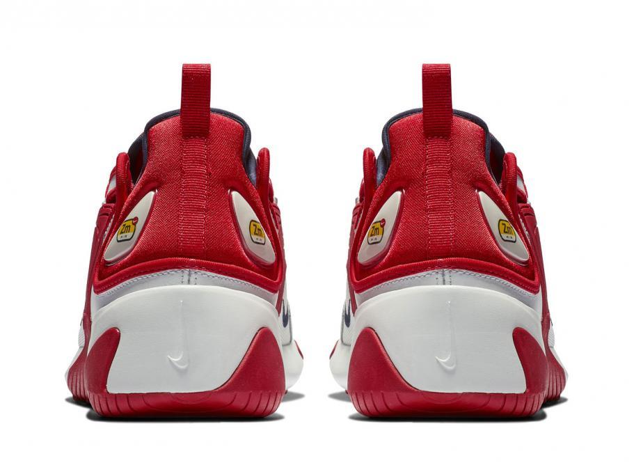 Cesta Claraboya nitrógeno  Nike Zoom 2K Off White / University Red AO0269-102 / Soldes / Novoid Plus