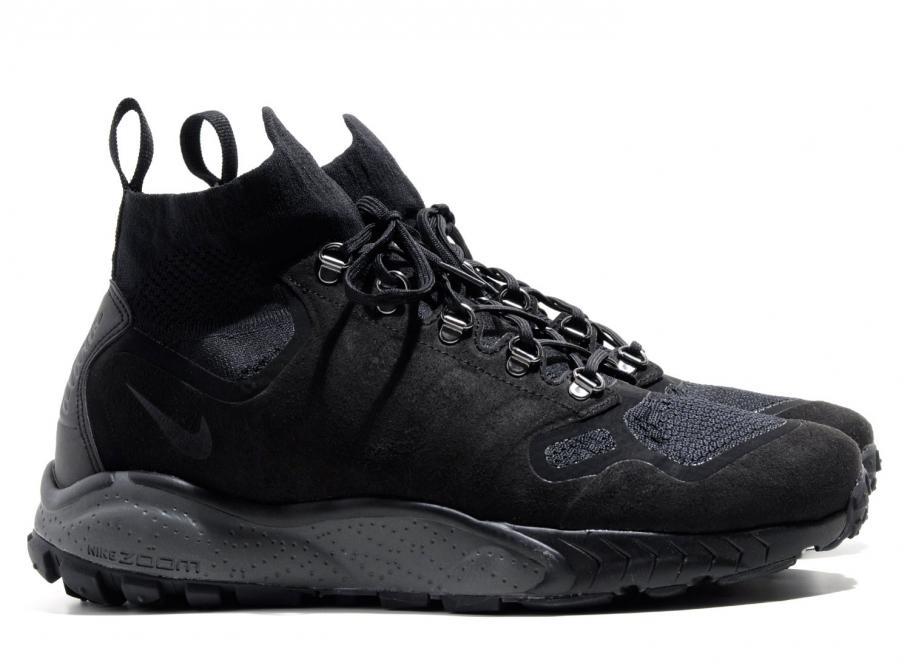 Nike Zoom Talaria Mid Flyknit Triple Black 856957-001   Soldes   Novoid Plus 766ee4926
