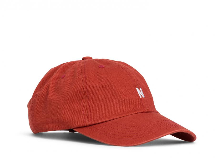 4bfc05f9e50d5 Norse Projects Twill Sports Cap Askja Red   Soldes   Novoid Plus