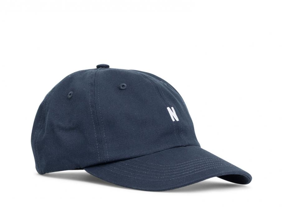 990013cd3d1e4 Norse Projects Twill Sports Cap Dark Navy   Soldes   Novoid Plus