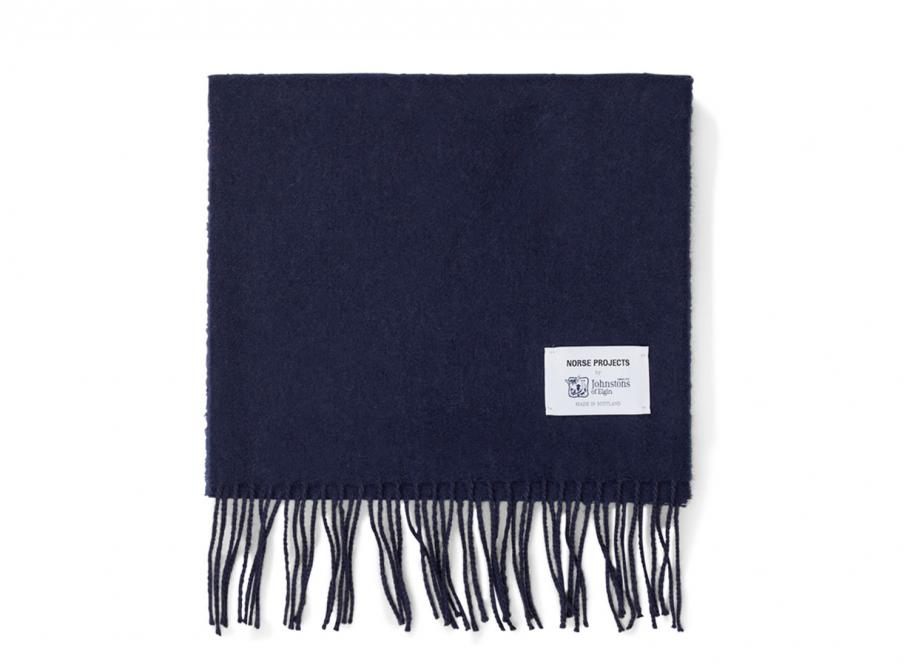 441bb47bb1df51 Norse Projects Norse X Johnstons Scarf Dark Navy / Soldes / Novoid Plus