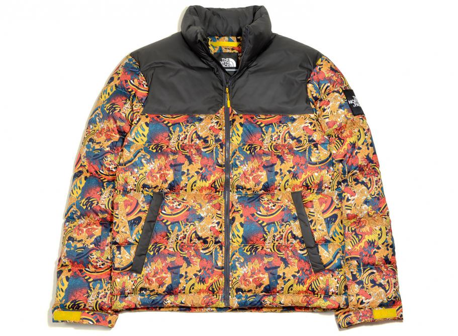 lower price with 100% genuine new arrive The North Face 1992 Nuptse Jacket Leopard Yellow