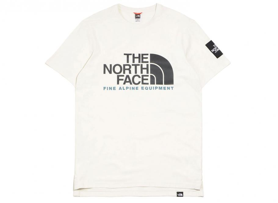 2b82a48512e The North Face Fine Alp Equtee Tee Vintage White   Soldes   Novoid Plus