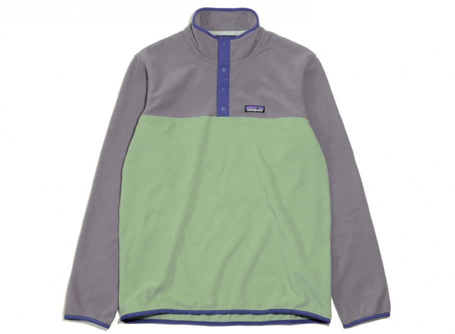 35840230cc2 Patagonia Micro D Snap-T Fleece Pullover Matcha Green   Soldes   Novoid Plus