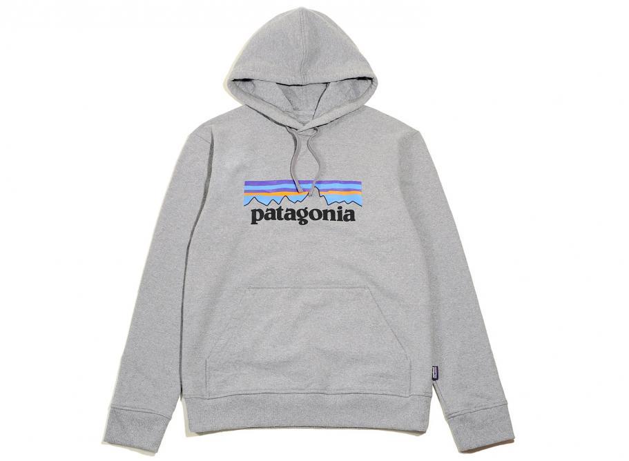 827ce2330e4 Patagonia P6 Logo Uprisal Hoody Gravel Heather   Soldes   Novoid Plus