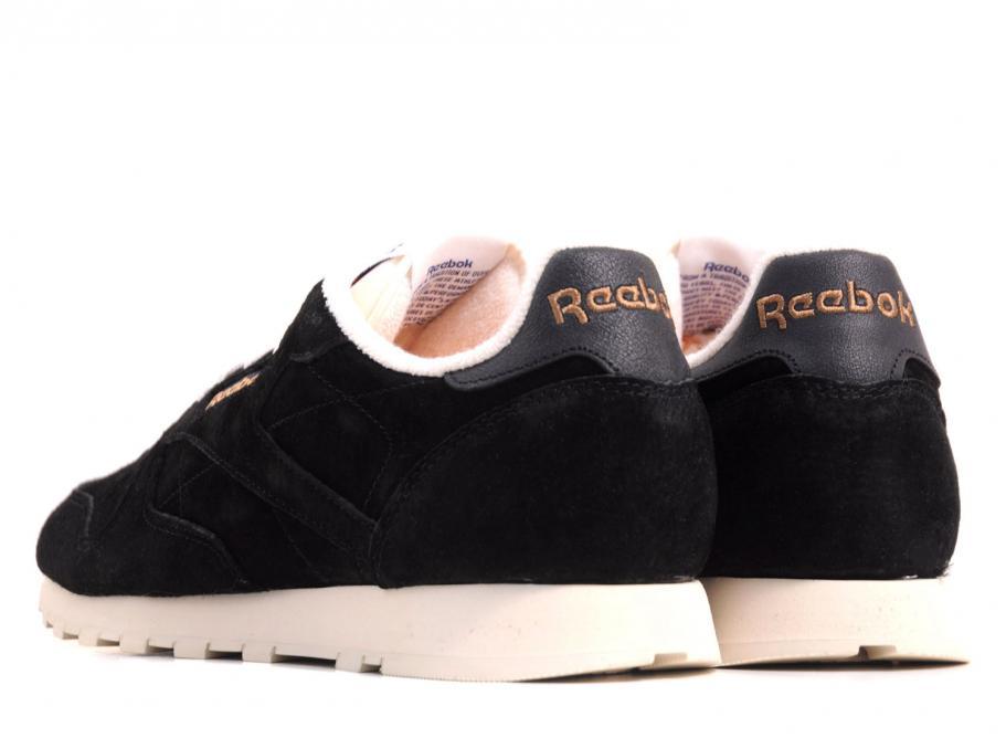 Reebok Classic Black Clean Leather Uj uXZiTPOk