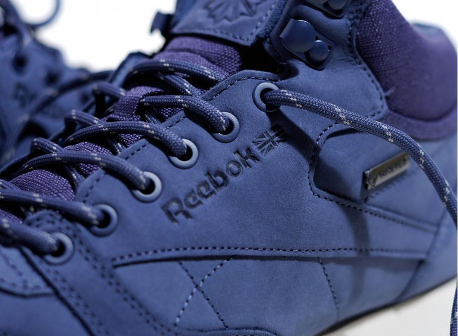 Reebok Classic Leather Mid Goretex Slate