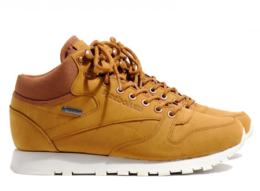 Reebok Classic Leather Mid Goretex Brown
