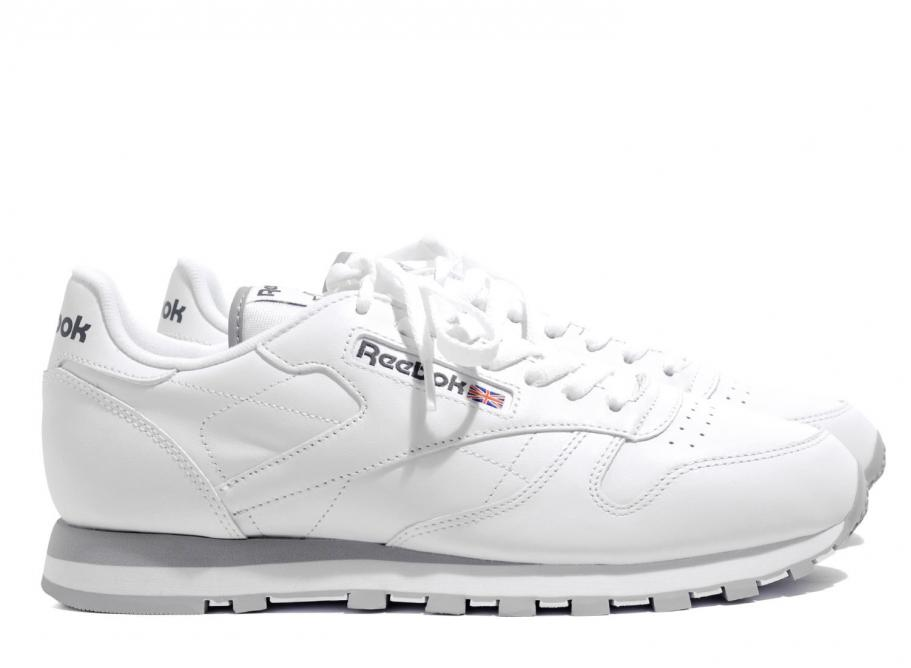 390e0413c71 inexpensive reebok classic leather white grey red ef4f3 51466