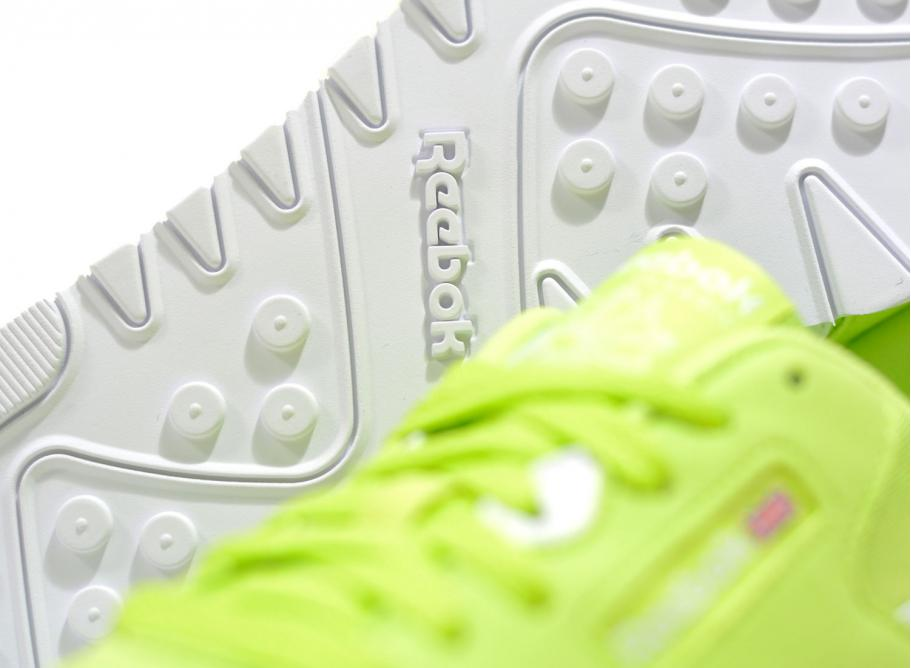 96f69db3f141 Reebok Classic Nylon Color Neon Lime CN7449 / Soldes / Novoid Plus