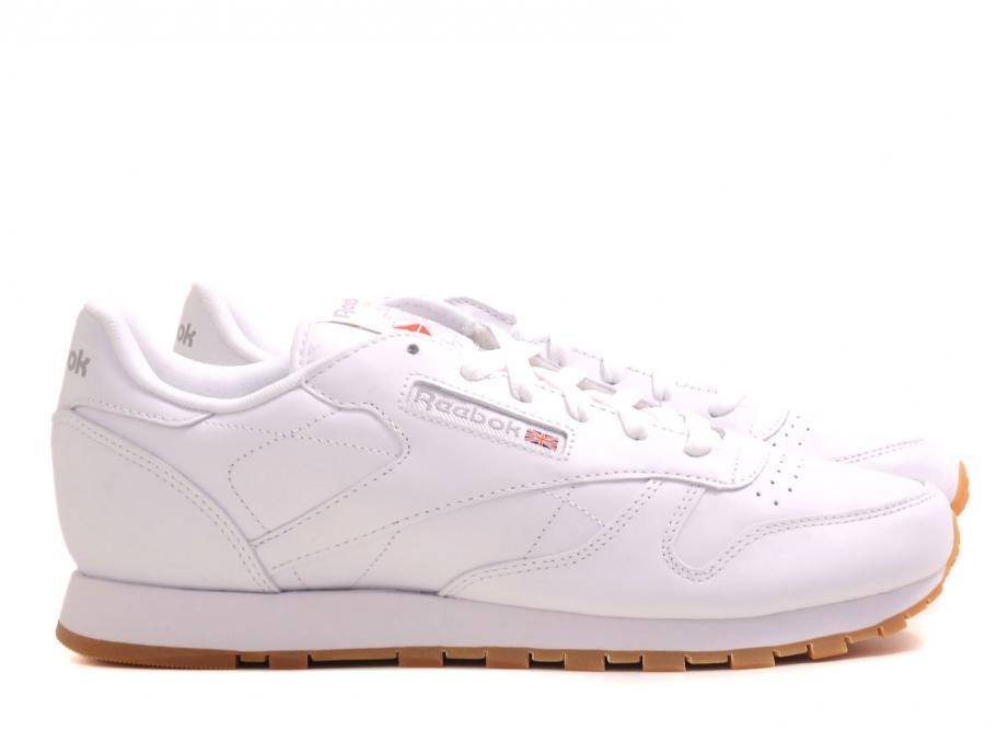 31f474f0724 Reebok Classic Leather White   Gum   Soldes   Novoid Plus