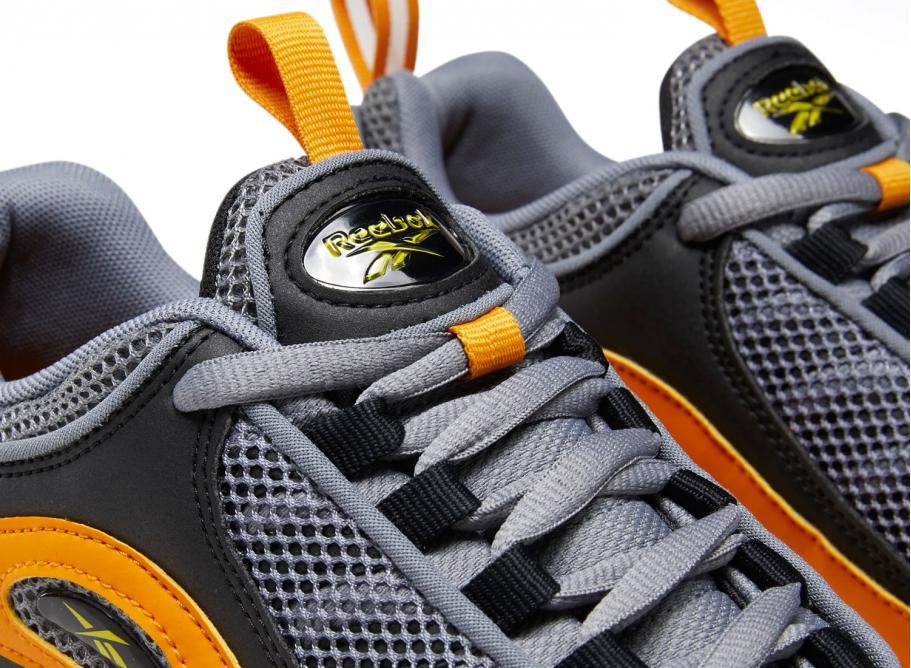 Reebok Daytona DMX II Black Bright Orange