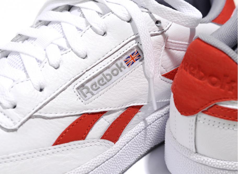 Reebok Revenge Plus MU Chaussure (black white primal red)