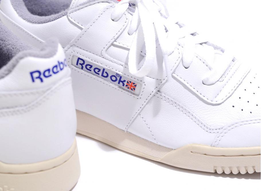reebok workout plus r12 white royal grey / v61811