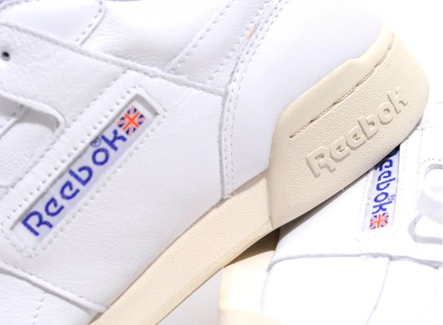 1227269ad4b Reebok Workout Plus R12 White   Royal   Grey V61811   Soldes ...