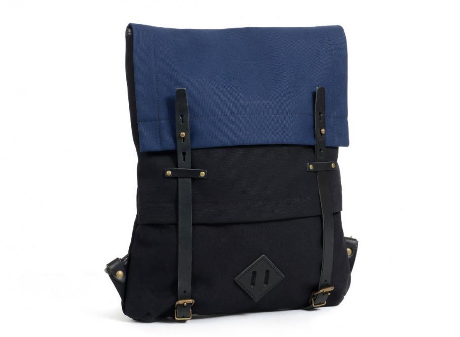 le mont saint michel x bleu de chauffe sac a dos coursier. Black Bedroom Furniture Sets. Home Design Ideas