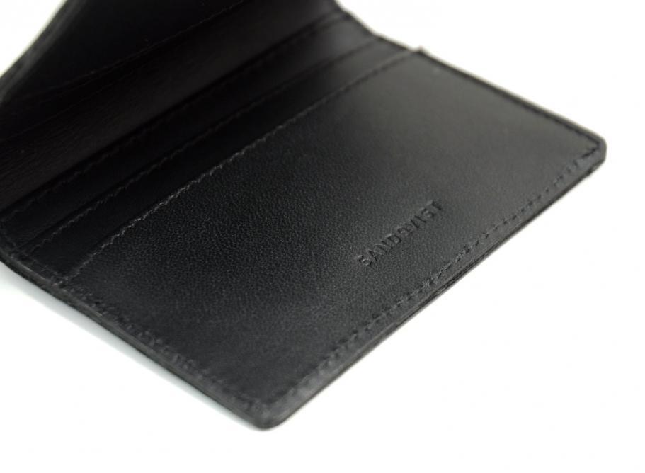 Sandqvist Dow Wallet Black Soldes Novoid Plus