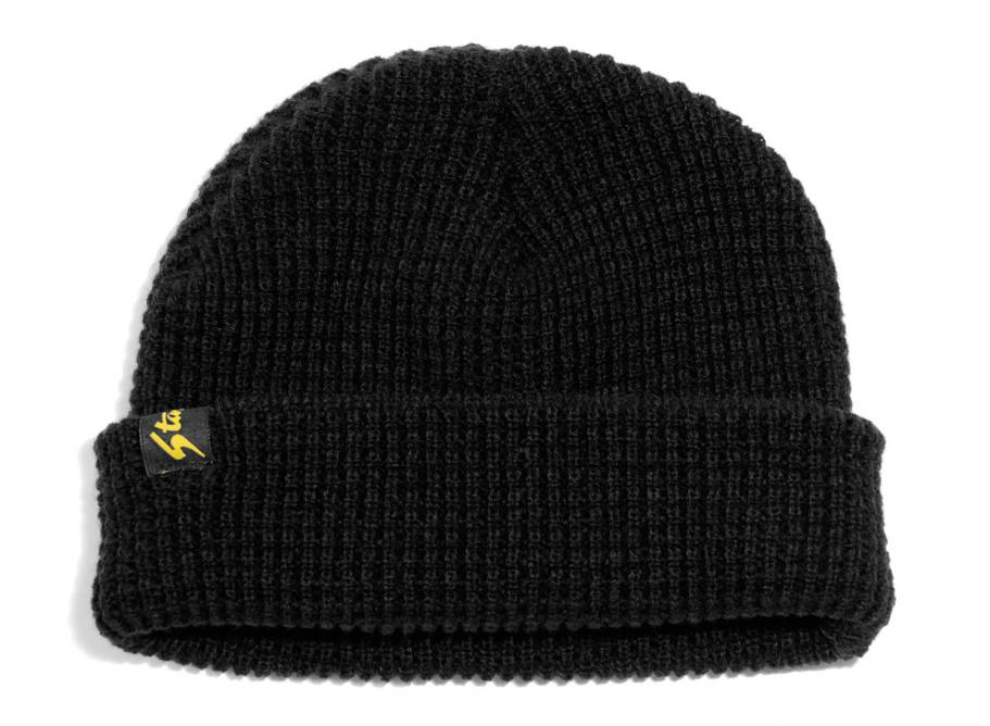 Stan Ray Waffle Skull Cap Beanie Black   Soldes   Novoid Plus 844007b9c74