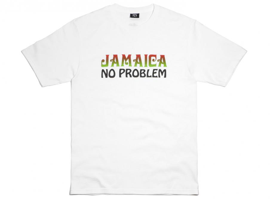 88e8cf6fb Stussy Jamaica NP Tee White / Soldes / Novoid Plus