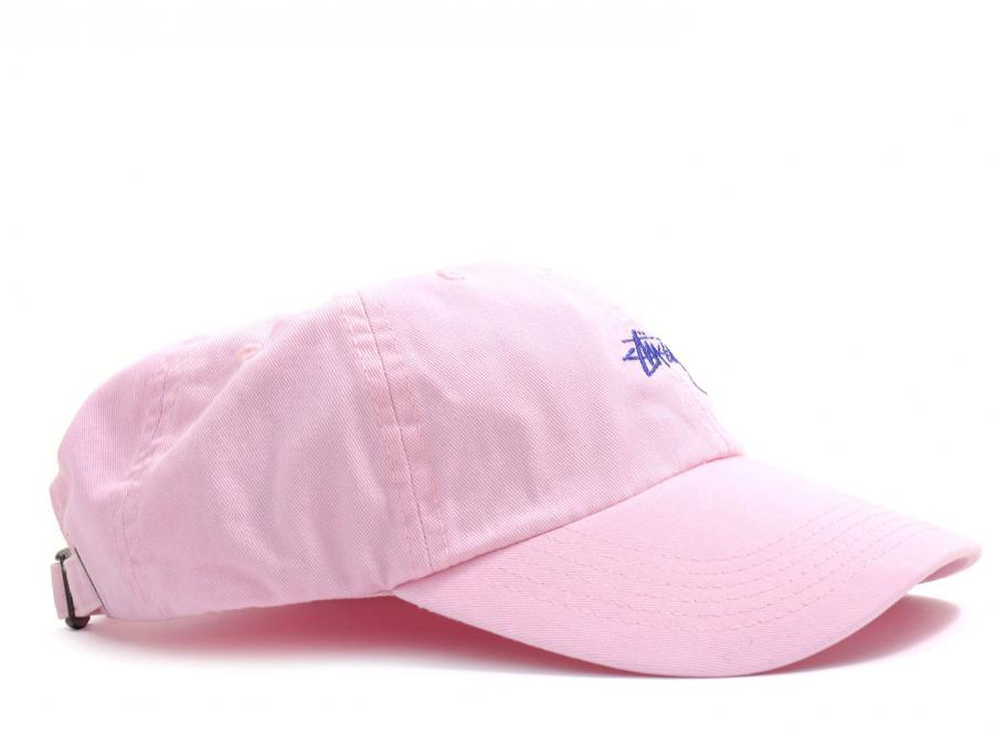 99ac58eecbc Stussy Stock Low Profile Strapback Pink   Soldes   Novoid Plus