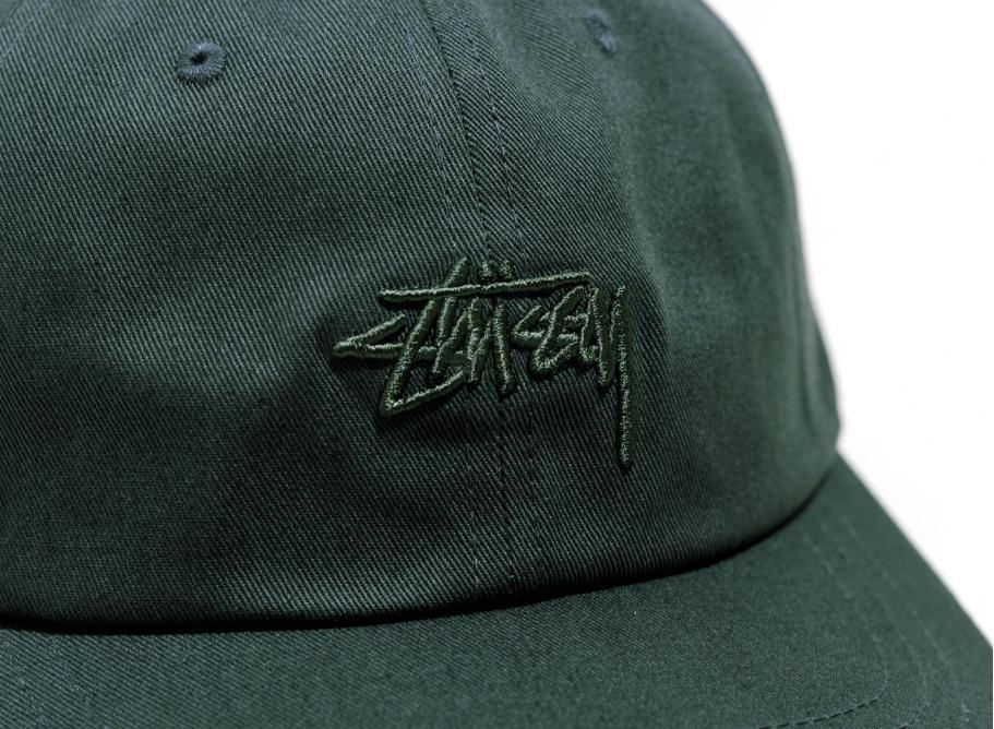 bf71245b231 Stussy Tonal Stock Low Cap Green   Soldes   Novoid Plus