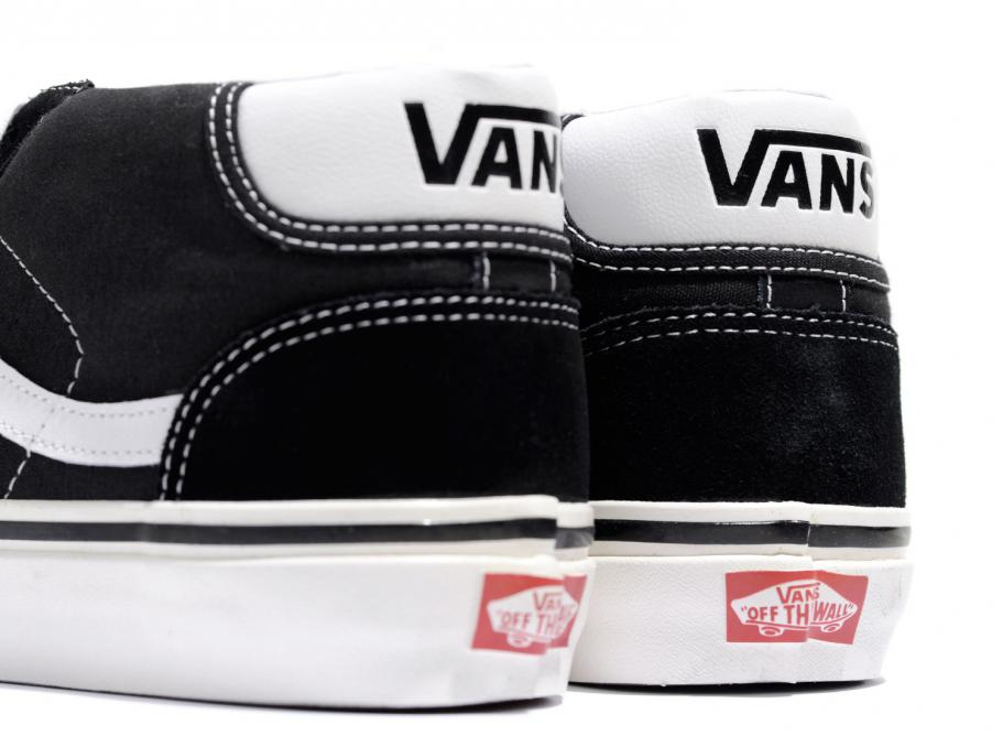 Vans Mid Skool 37 DX Anaheim Factory Black White
