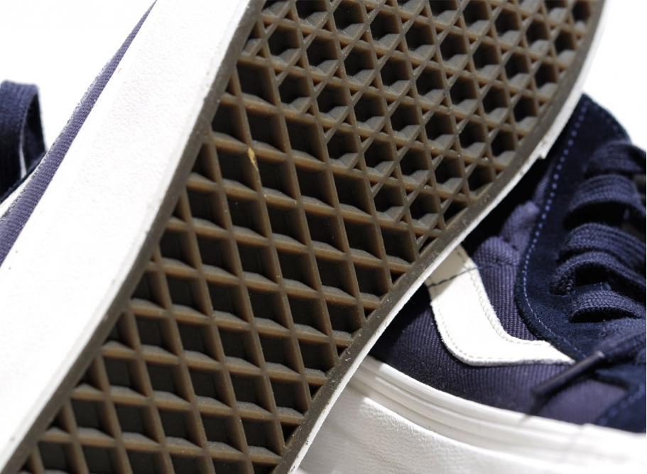22121e8b32d119 Vans OG Sk8 Hi LX Suede Canvas Blue Night   Soldes   Novoid Plus