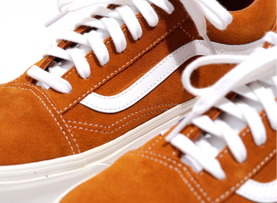 Vans Old Skool Reissue Retro Sport Glazed Ginger